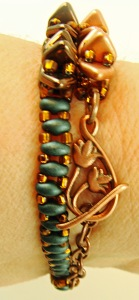 Cute little copper clasp!