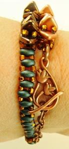 Cute little copper clasp!